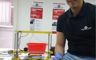 Fernando A. Moll pone a disposición del Hospital de Denia sus impresoras 3D